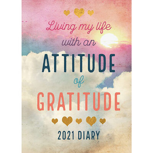 A5 Attitude 2021 Day a Page Diary