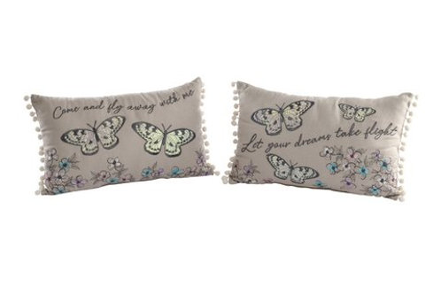 Butterfly Cushions - Set of 2