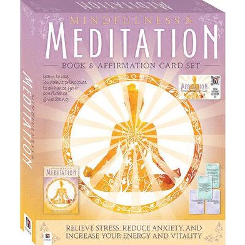 Mindfulness & Meditation: Book and Affirmation Card Set