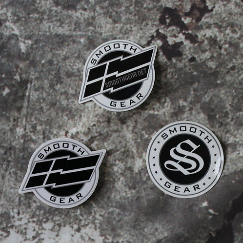 Smooth Gear Logo Sticker