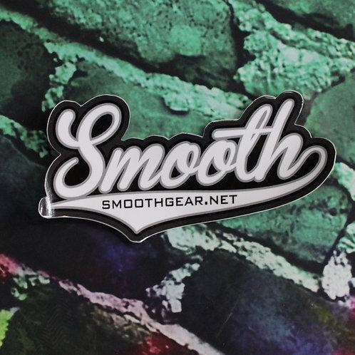 Smooth Script Sticker