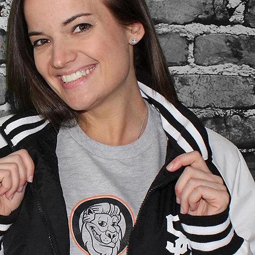 Mascot Tee - Heather Grey/Orange/Black