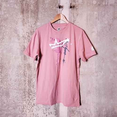 Signature T-Shirt (Dusty Rose/Pink/Grey)