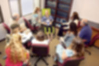 Heather Solarie Conducts Hypnotherapy Training Demo For Students