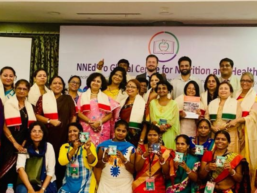 NNEdPro shares mobile teaching kitchen microenterprise knowledge across india