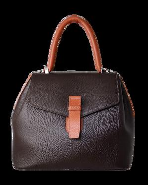 Milano Bag Bicolor Marrone