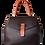 Thumbnail: Milano Bag Bicolor Marrone