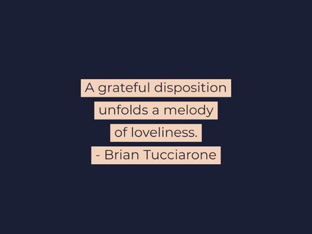 A Grateful Disposition
