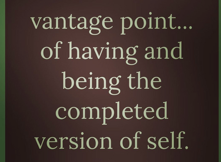 Vantage Point ... having and being ... Complete