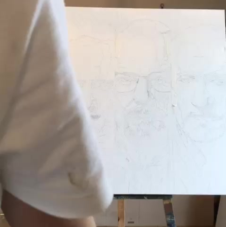 """""""Time to get to work"""" Breaking Bad piece time lapse"""
