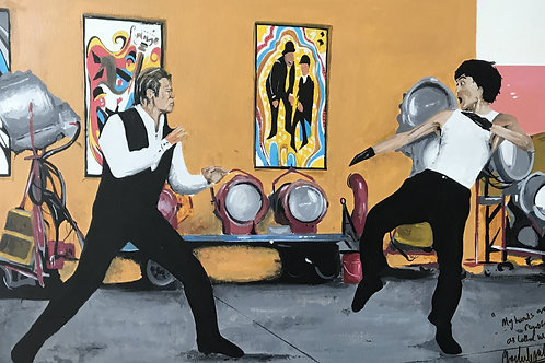 Fight! Once upon a time in Hollywood piece