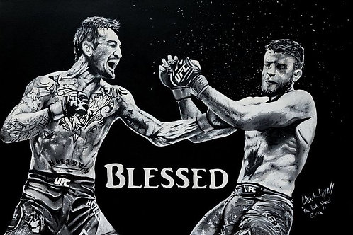 Blessed limited edition print