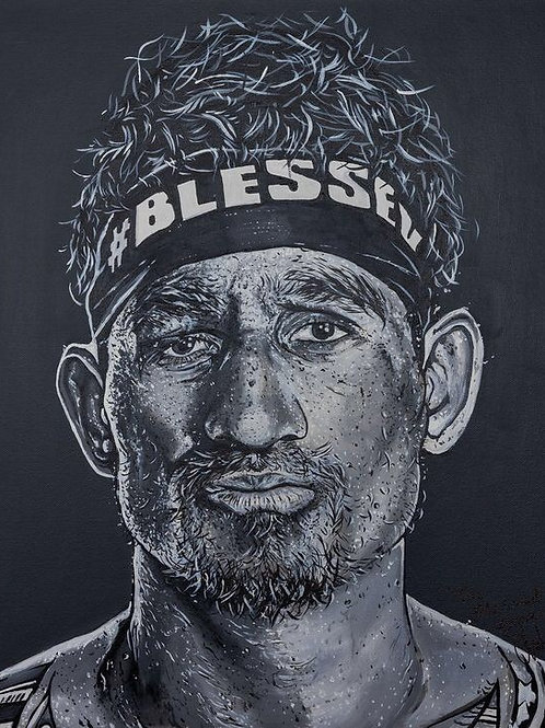 Blessed Express limited edition print