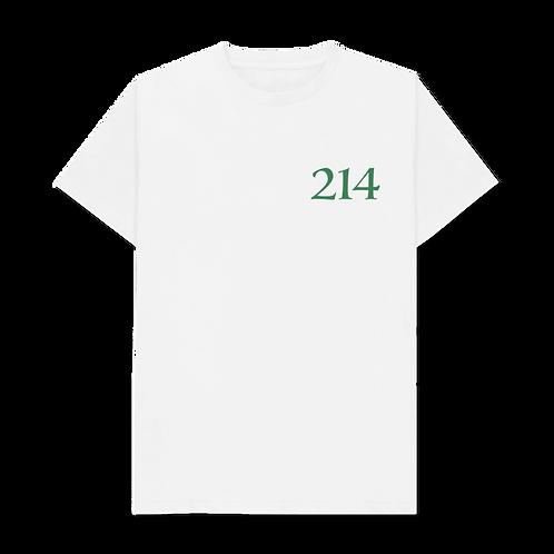 The 214 Tee - Ash/Green