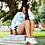 Thumbnail: White Collegiate Crewneck Sweater