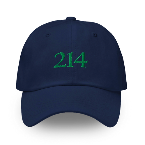 214 Hat - Blue/Green Colorway