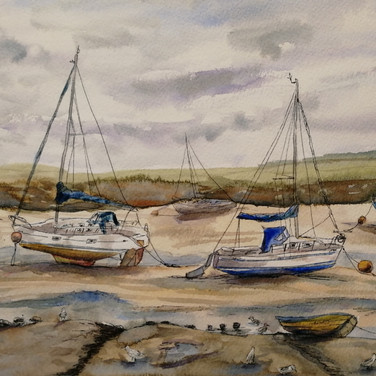 Boats, Wells-Next-The-Sea