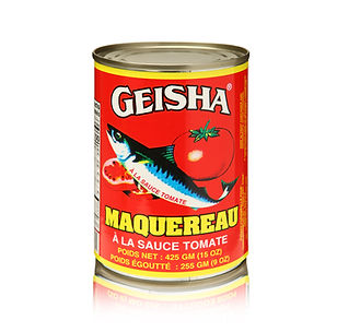 Geisha Mackerel Tomato Regular