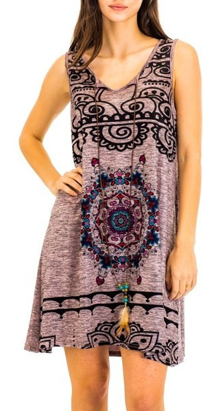 Abstract Geometric Dress