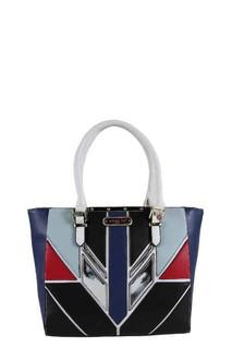 Nicole Lee Color Block Handbag