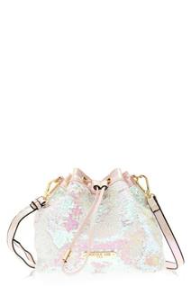 Nicole Lee Sequin Bucket Bag