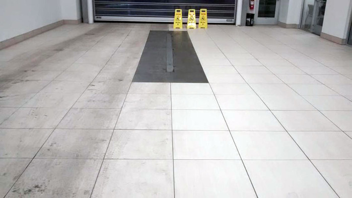 Commercial Tile And Grout Cleaning Before And After