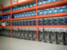 steamatic equipment in warehouse