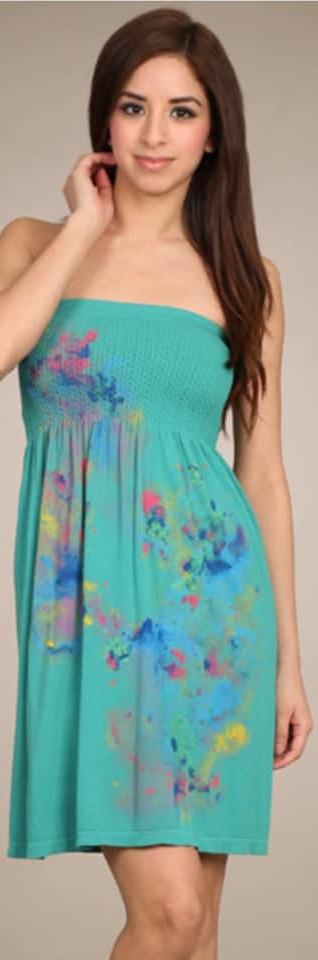 Babydoll Tube Dress