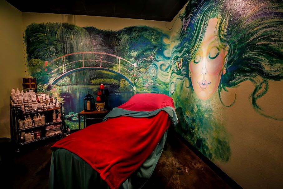 Destinations Day Spa Massage Room