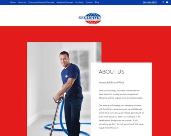 Steamatic of Arkansas Website