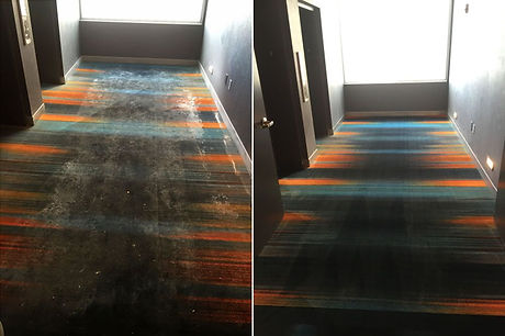 Before And After Steamatic of Arkansas Commercial Carpet Cleaning