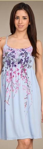 Seamless Ribbed Babydoll Scoopneck Dress