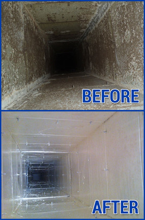 Commercial Air Duct Cleaning Before And After