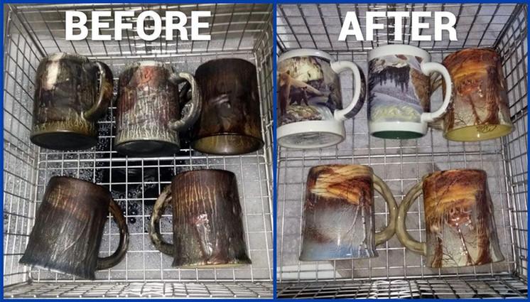 Fire Damage Houseware Restoration