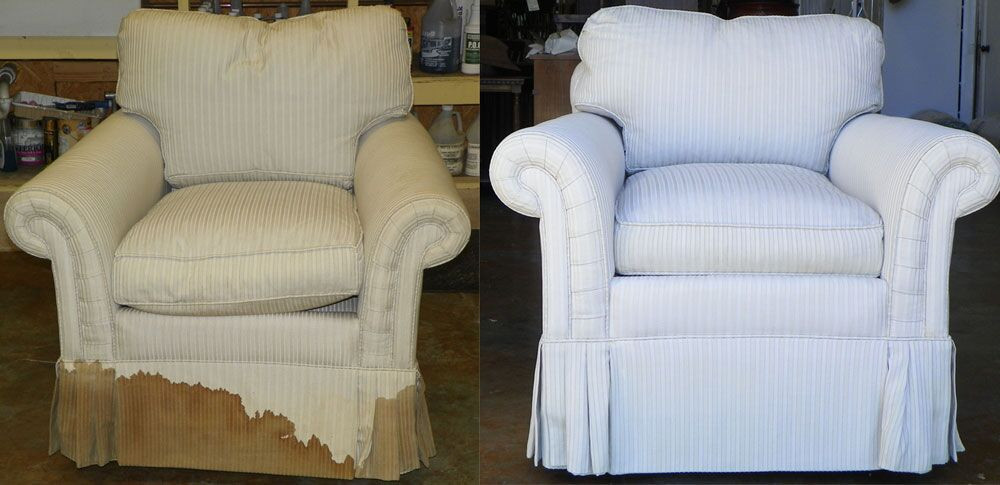 Furniture Cleaning Before And After