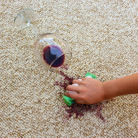 Removing Red Wine Carpet Stain