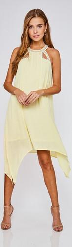 Yellow Embellished Dress