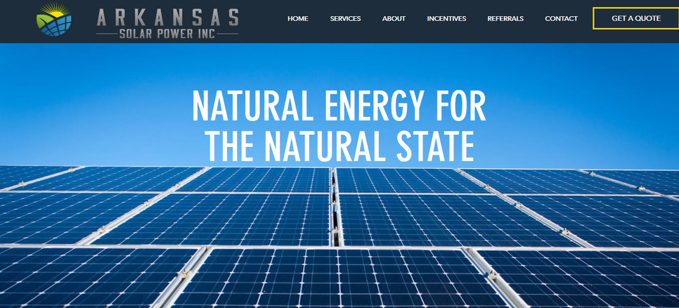 Arkansas Solar Power INC