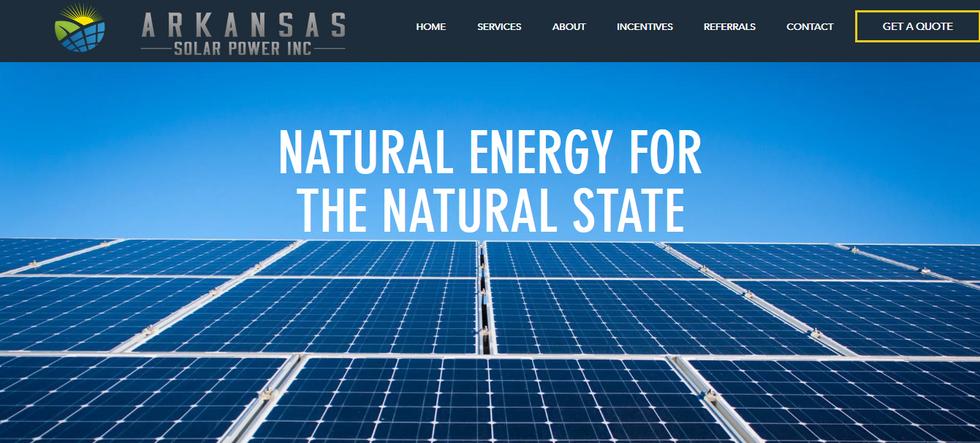 Arkansas Solar Power INC