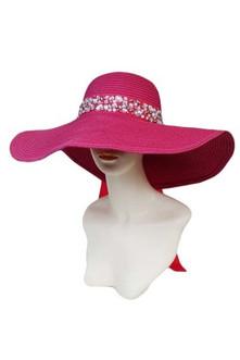 Hot Pink Bling Hat