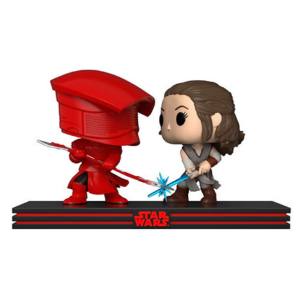 Set 2 figuras POP Star Wars Rey & Praetorian Guard