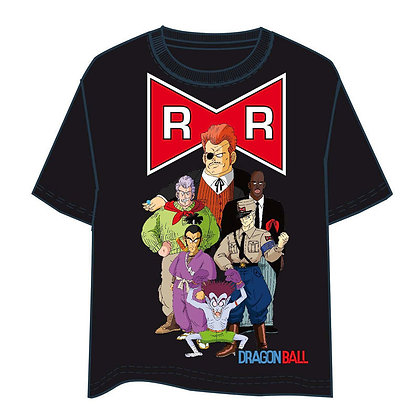 Camiseta Dragon Ball Red Ribbon adulto