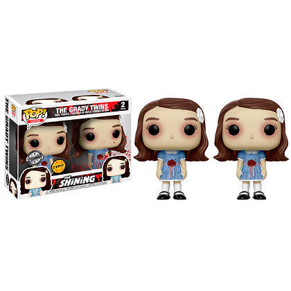Set figuras POP The Shining The Grady Twins Chase