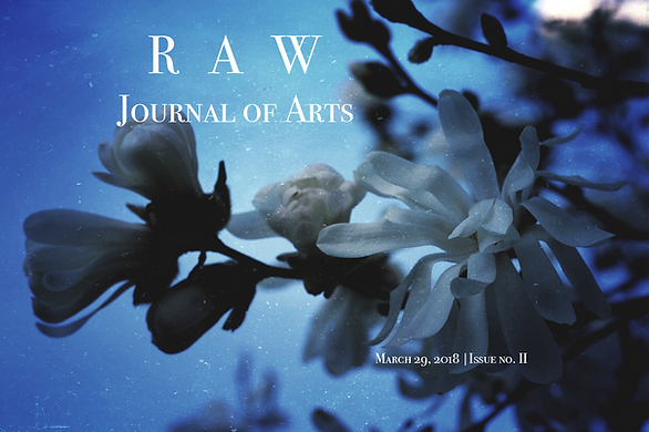 RAW Journal of Arts issue no. 2 Cover