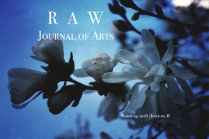 RAW Journal of Arts Issue 2 Cover