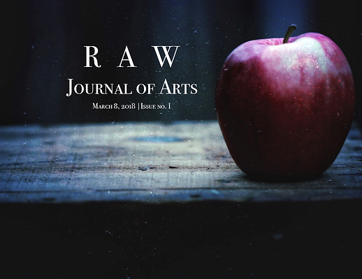 RAW Journal of Arts issue no. 1 Cover