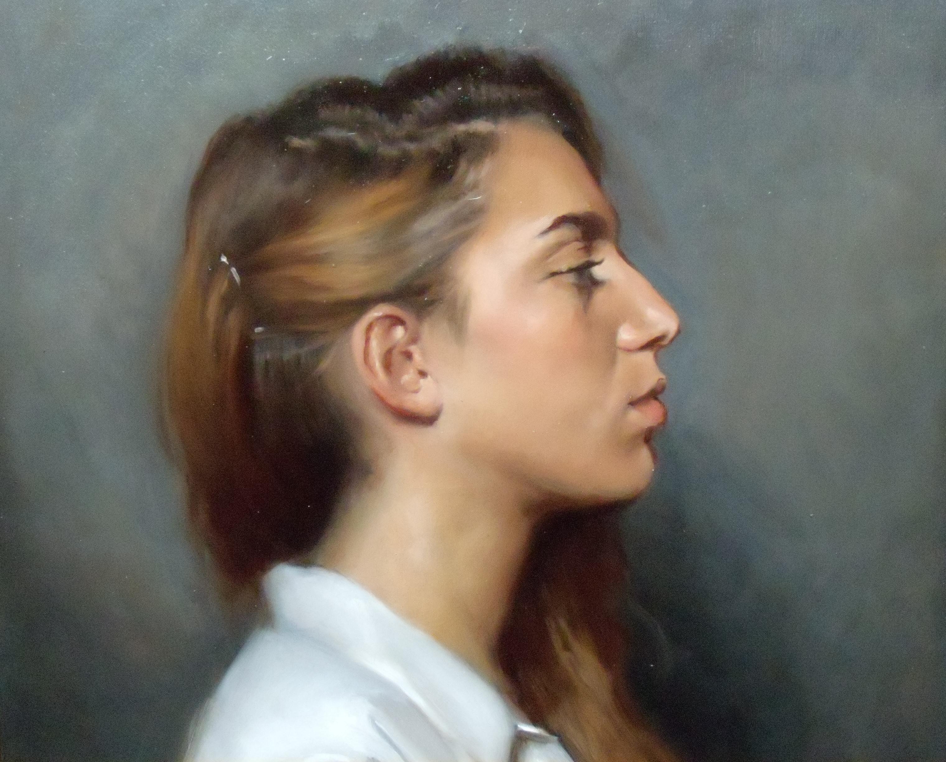 Sight-size Portrait Painting