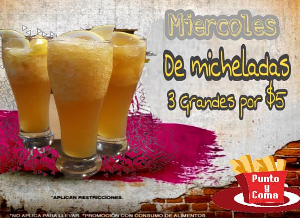 MIERCOLES DE MICHELADA