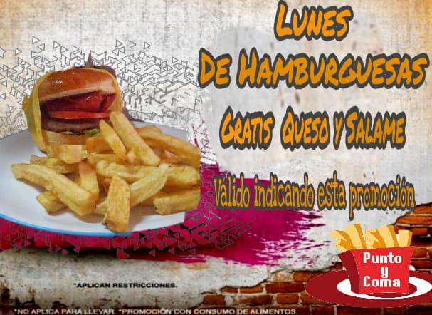 LUNES DE HAMBURGUESAS