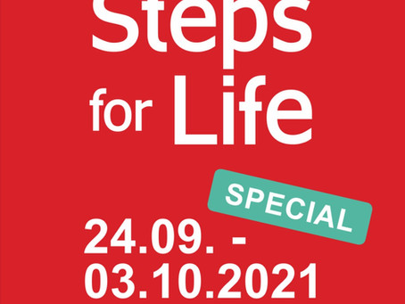STEPS FOR LIFE 2021